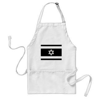 Flag of Israel - דגל ישראל - ישראלדיקע פאן Standard Apron
