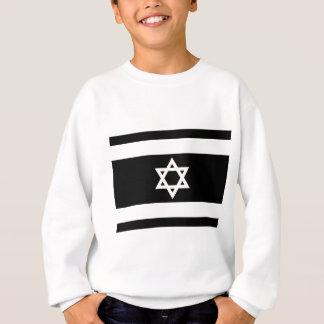 Flag of Israel - דגל ישראל - ישראלדיקע פאן Sweatshirt