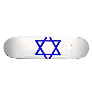 Flag of Israel 20.6 Cm Skateboard Deck