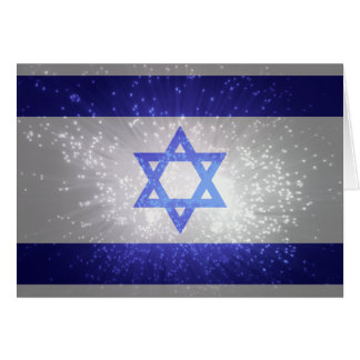 Flag of Israel Note Card