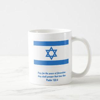 Flag of Israel, Mug
