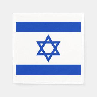 Flag of Israel Paper Napkins Disposable Napkin