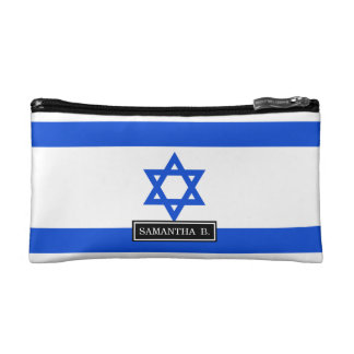Flag of Israeli Cosmetic Bag