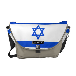 Flag of Israeli Courier Bag