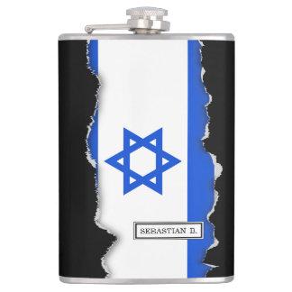 Flag of Israeli Hip Flask