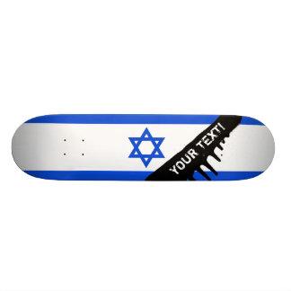 Flag of Israeli Skateboard Decks
