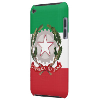 Flag of Italy Coat of Arms iPod Touch Case-Mate Ba