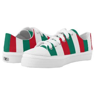 Flag of Italy Italia Italian Low Tops