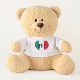 Flag of Italy Italia Italian Teddy Bear