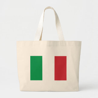 Flag_of_Italy Large Tote Bag