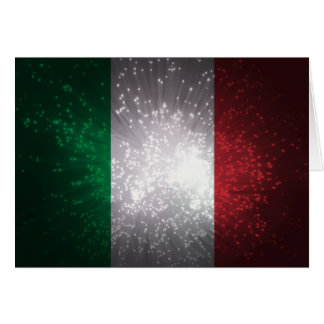 Flag of Italy Note Card