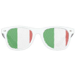 Flag of Italy Retro Sunglasses