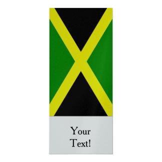 Flag of Jamaica 10 Cm X 24 Cm Invitation Card