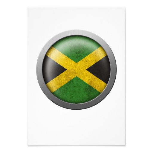 Flag of Jamaica Disc Personalized Announcements