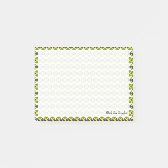 Flag of Jamaica Emojis Post-it Notes