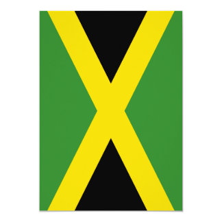Flag of Jamaica Personalized Invitation