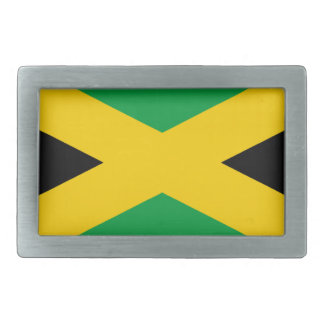 Flag of Jamaica - Jamaican Flag Belt Buckles