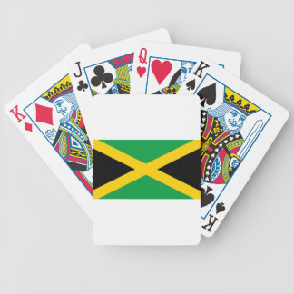 Flag of Jamaica - Jamaican Flag Bicycle Playing Cards