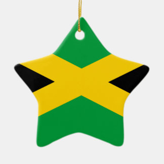 Flag of Jamaica - Jamaican Flag Ceramic Ornament