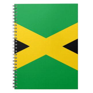 Flag of Jamaica - Jamaican Flag Notebook