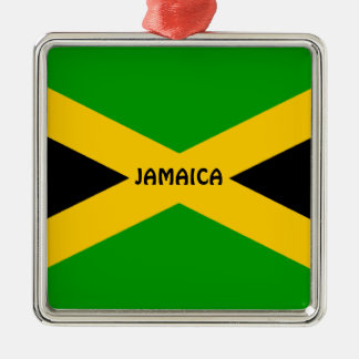 Flag of Jamaica Metal Ornament