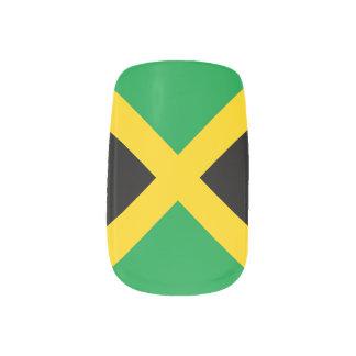 Flag of Jamaica Nail Art