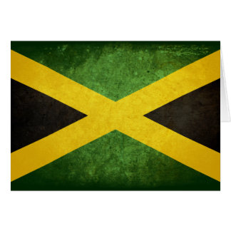 Flag of Jamaica Note Card
