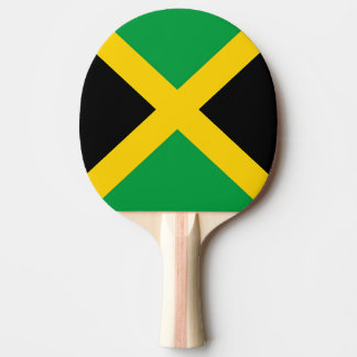 Flag of Jamaica Ping Pong Paddle