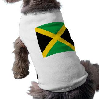 Flag of Jamaica Sleeveless Dog Shirt