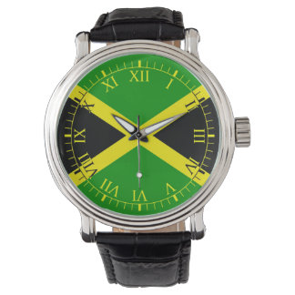 Flag of Jamaica Wrist Watches