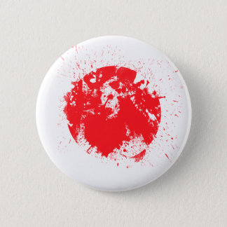 Flag of Japan 6 Cm Round Badge