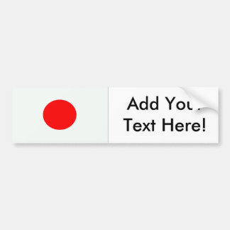 Flag of Japan Bumper Sticker