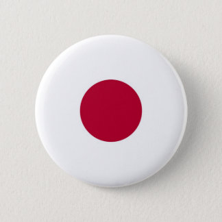 Flag of Japan on Pin / Button Badge