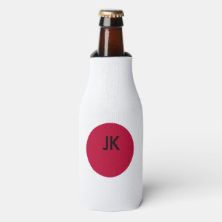 Flag of Japan or Hinomaru Bottle Cooler