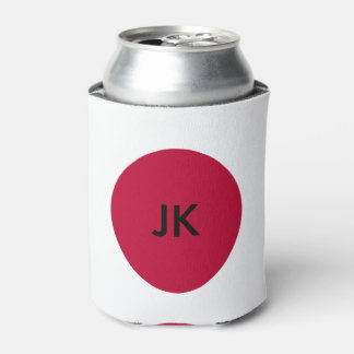 Flag of Japan or Hinomaru Can Cooler