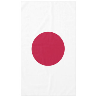 Flag of Japan or Hinomaru Tablecloth