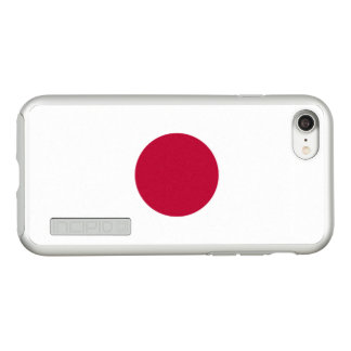Flag of Japan Silver iPhone Case