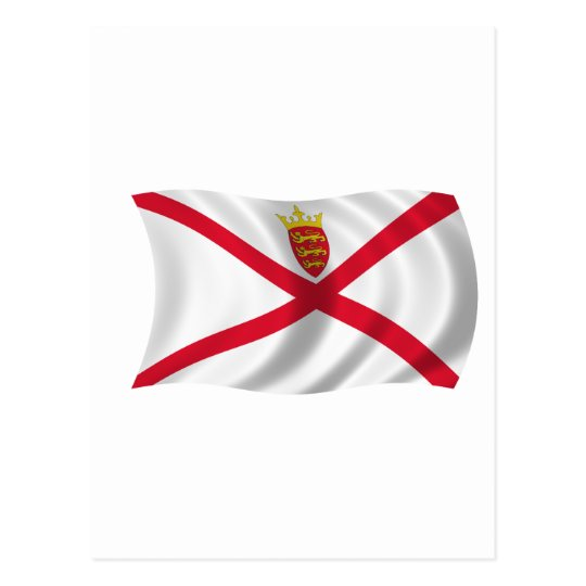 Flag of Jersey Postcard