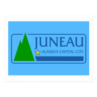 Flag of Juneau, Alaska Postcard