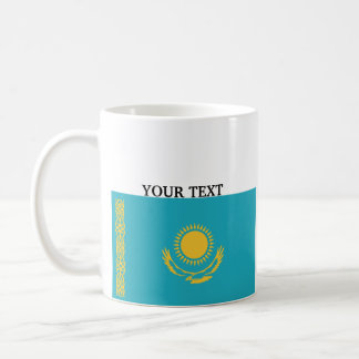 Flag of Kazakhstan Basic White Mug