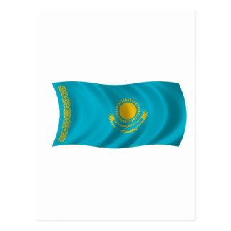 Flag of Kazakhstan Postcard