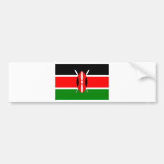 Flag of Kenya Bumper Sticker