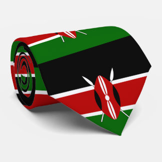 Flag of Kenya Tie