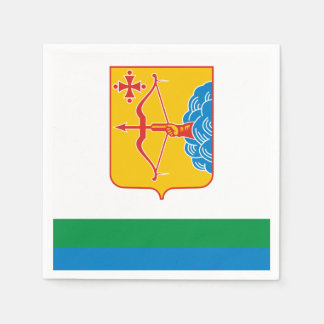 Flag of Kirov oblast Disposable Napkins