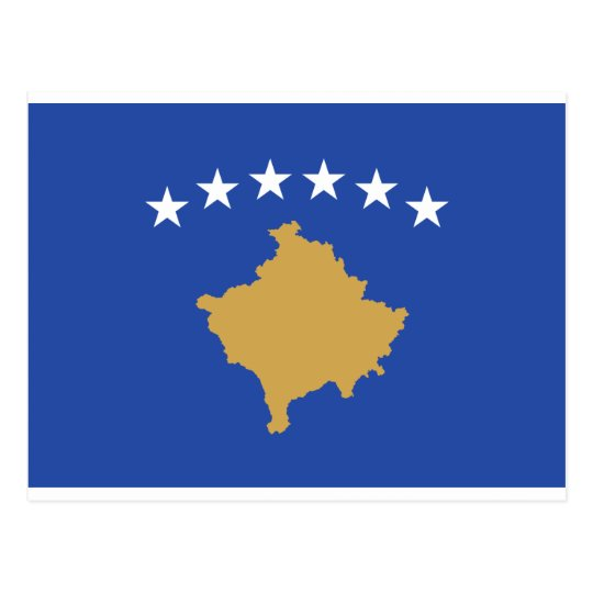 Flag_of_Kosovo Postcard