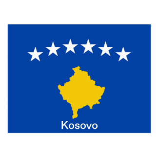 Flag of Kosovo Postcard
