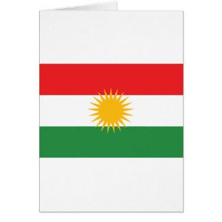 Flag of Kurdistan; Kurd; Kurdish Card