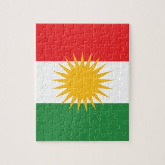 Flag of Kurdistan; Kurd; Kurdish Jigsaw Puzzle