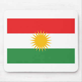 Flag of Kurdistan; Kurd; Kurdish Mouse Pad