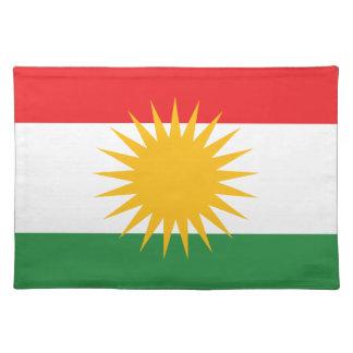 Flag of Kurdistan; Kurd; Kurdish Placemat